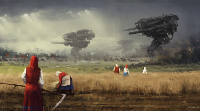 Jakub Rozalski 1920+ Before the Storm